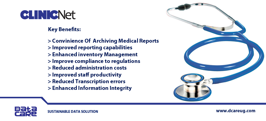 CLINIC NET Software Solution